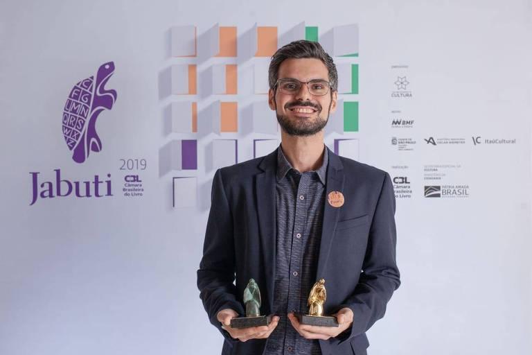 Pedro H. G. Ferreira de Souza, autor de 'Uma História da Desigualdade', melhor livro do ano no prêmio Jabuti