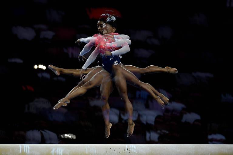 Considerada a melhor ginasta de todos os tempos, a norte-americana Simone Biles é figura certa no pódio dos Jogos de Tóquio, mostrando o poderio feminino