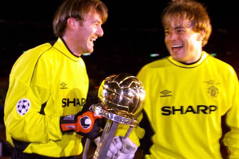 Palmeiras e Manchester United, final do Mundial de Clubes de 1999