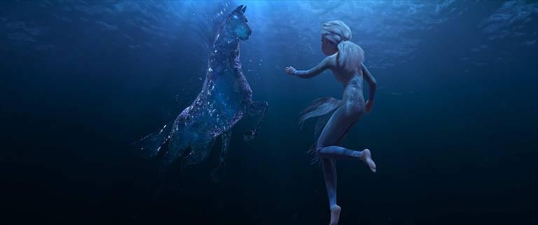 Confira algumas cenas da sequência de 'Frozen'