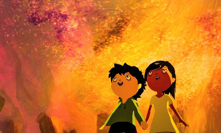 Cena da animação 'Tito e os Pássaros'