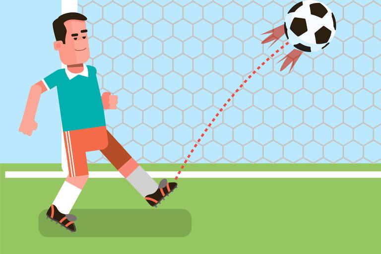 Gandula do Campo Limpo não pensou duas vezes antes de invadir o campo e evitar o gol certo do adversário com um chute
