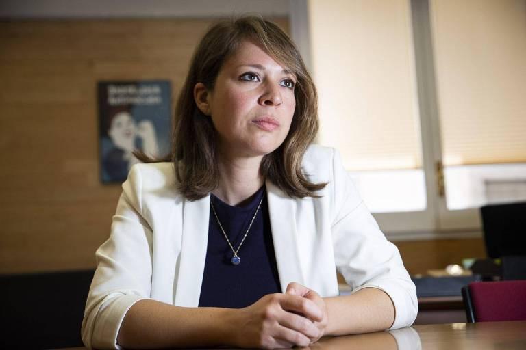 Janet Sanz, vice-prefeita da cidade e secretária de urbanismo, mobilidade e ecologia de Barcelona