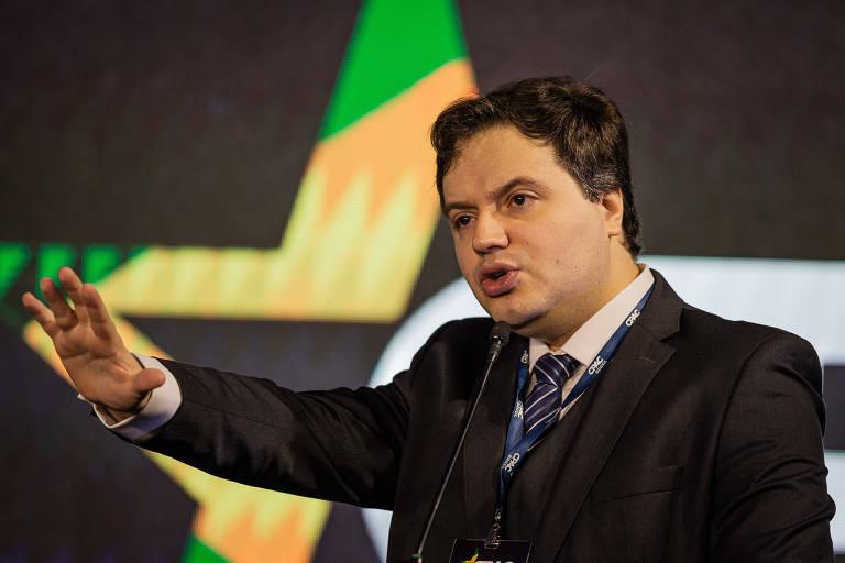 SÃO PAULO, SP, BRASIL, 12-10-2019: Segundo dia da Conferência conservadora Cpac. Na foto, Rafael Nogueira