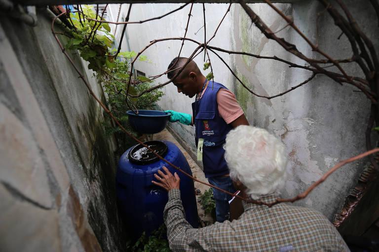 Casas infestadas no estado de SP têm 2,5 criadouros de mosquito