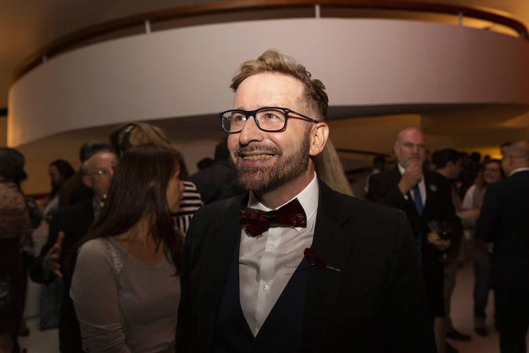O editor Pedro Almeida, que renunciou ao posto de curador do Prêmio Jabuti