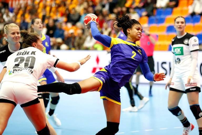 Seleção brasileira feminina perdeu para a Alemanha na estreia do Mundial de Handebol de 2019