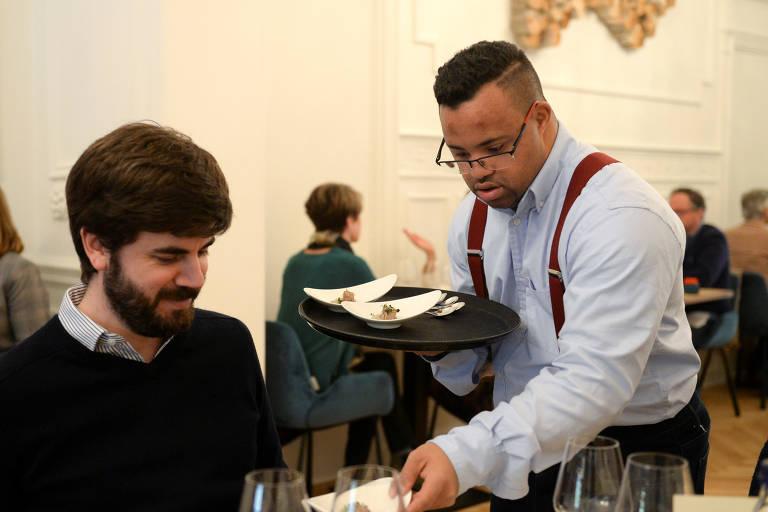 Restaurante com funcionários com Down é o mais bem avaliado de Bruxelas