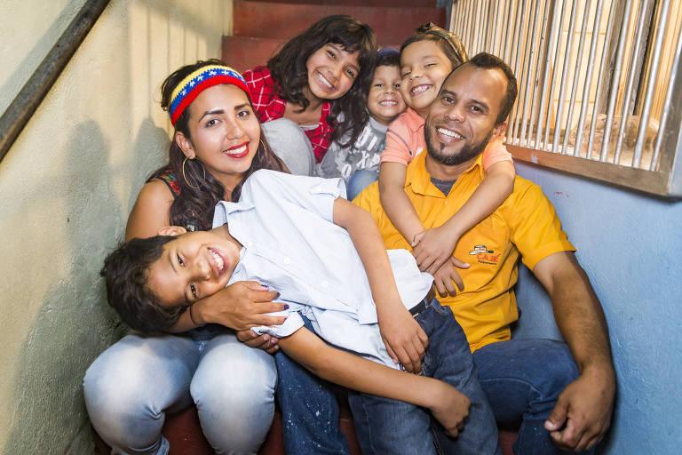 Venezuelanos que fugiram da crise refazem a vida na capital