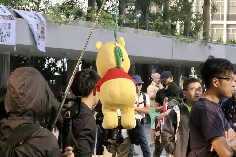 Manifestantes voltam a se reunir em Hong Kong