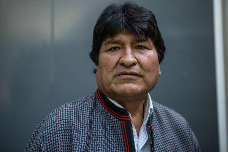 retrato de Evo Morales