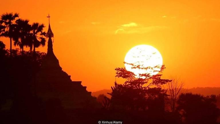 A capital de Mianmar foi oficialmente transferida de Yangon para Naypyidaw em 2006