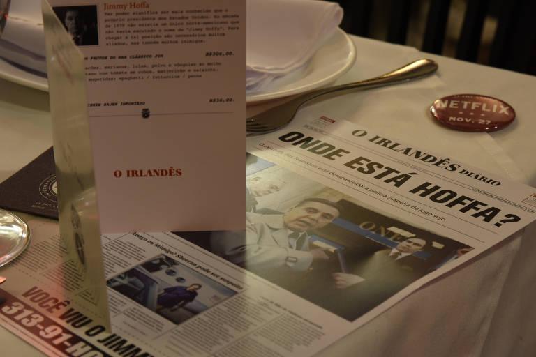 Famiglia Mancini tem ambiente inspirado no restaurante Villa di Roma, do filme