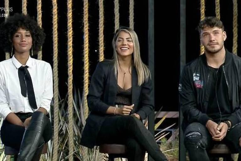 Sabrina, Hariany e Lucas estão na roça em A Fazenda 11