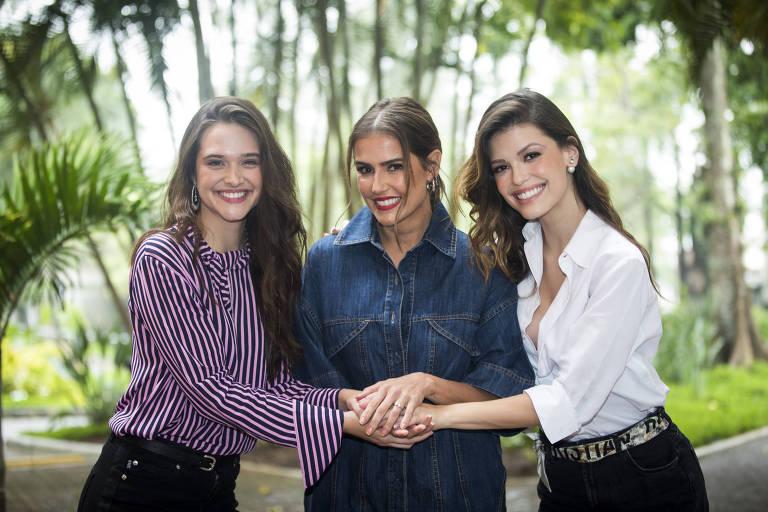 Deborah Secco, Juliana Paiva e Vitória Strada