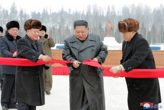 DPRK-SAMJIYON-CONSTRUCTION-KIM JONG UN