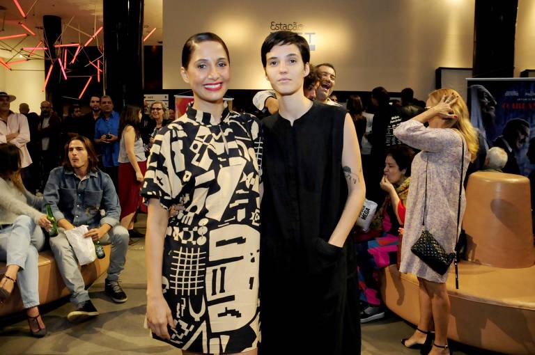 Camila Pitanga e a ex-namorada, Beatriz Coelho