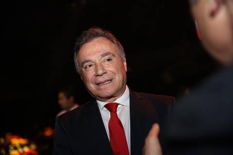 SAO PAULO/ SP, BRASIL, 02-12-2019: Alvaro Dias no Coquetel para entrega do Prêmio