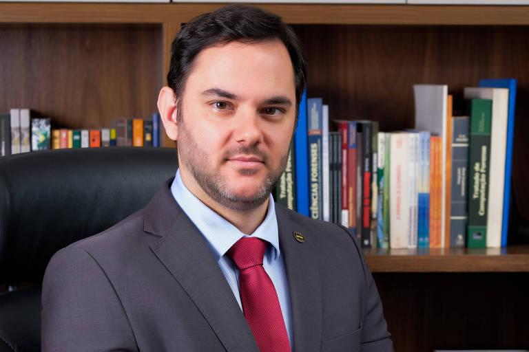 Marcos Camargo - presidente da Associação Nacional dos Peritos Criminais Federais