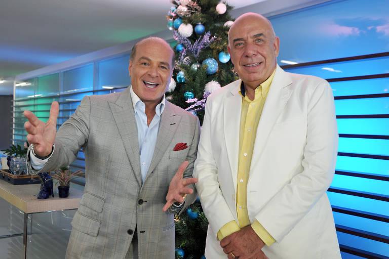 Marcelo de Carvalho e Amilcare Dallevo Jr., principais executivos da RedeTV!