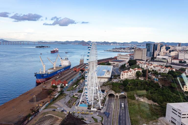 No dia 6 de dezembro, será inaugurada a Rio Star, a maior Roda Gigante da América Latina, com 88 metros de altura