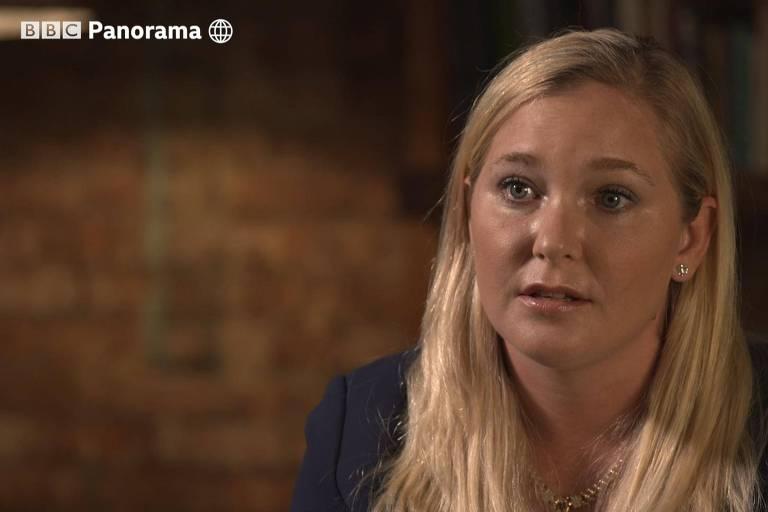 Virginia Roberts em documentário exibido pela BBC Panorama