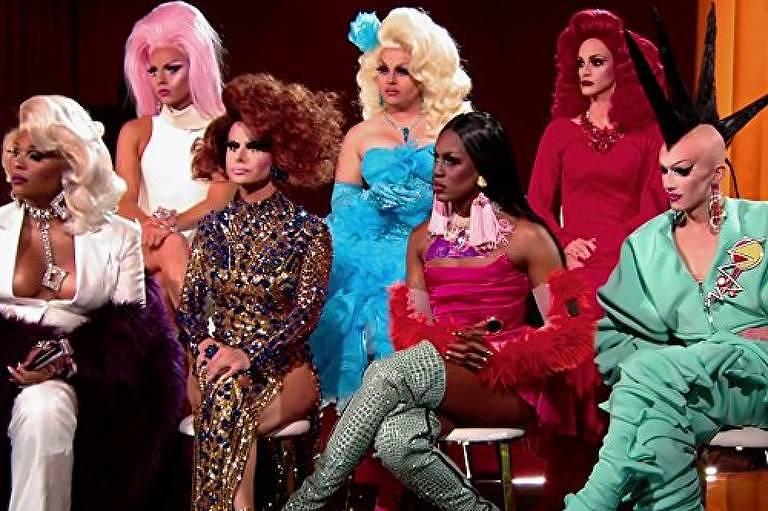Cenas da série Ru Paul's Drag Race
