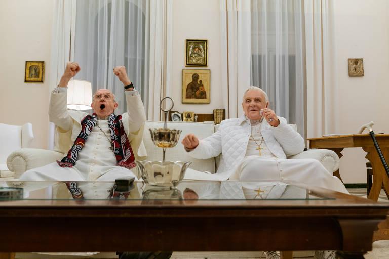 Veja cenas de 'Dois Papas'