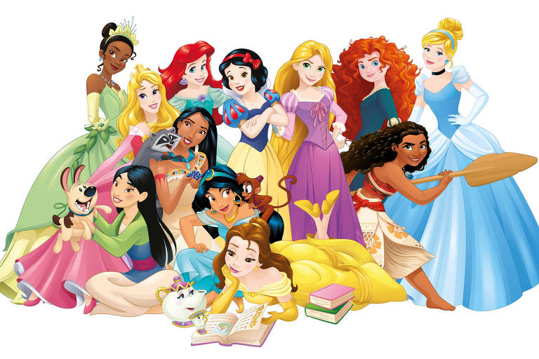 Disney Channel exibe curtas-metragens de princesas na Língua Internacional de Sinais