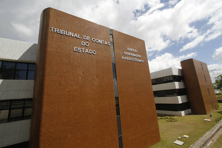 Prédio da sede do Tribunal de Contas do Estado de Sergipe