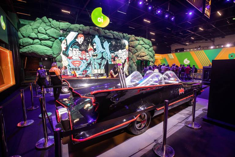 Carro do Batman na CCXP