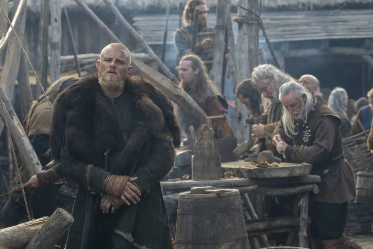 """Cena da série """"Vikings"""""""