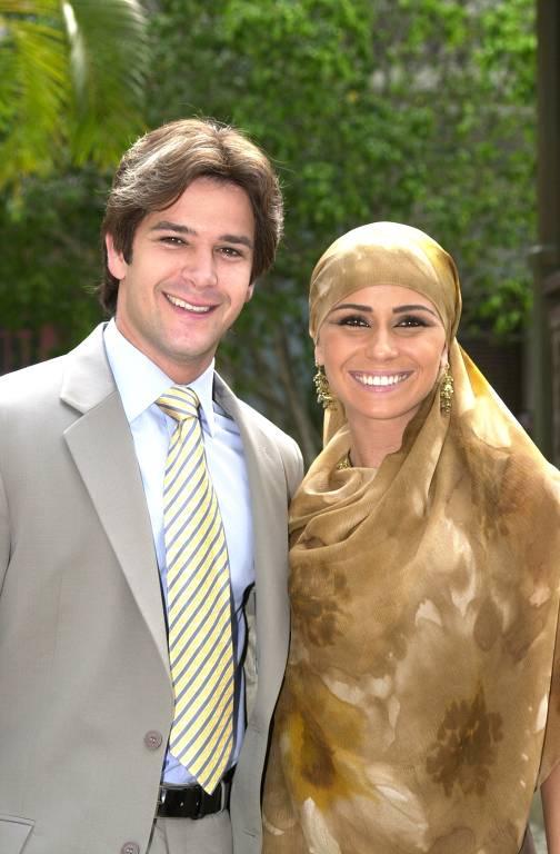 Murilo Benicio e Giovanna Antonelli