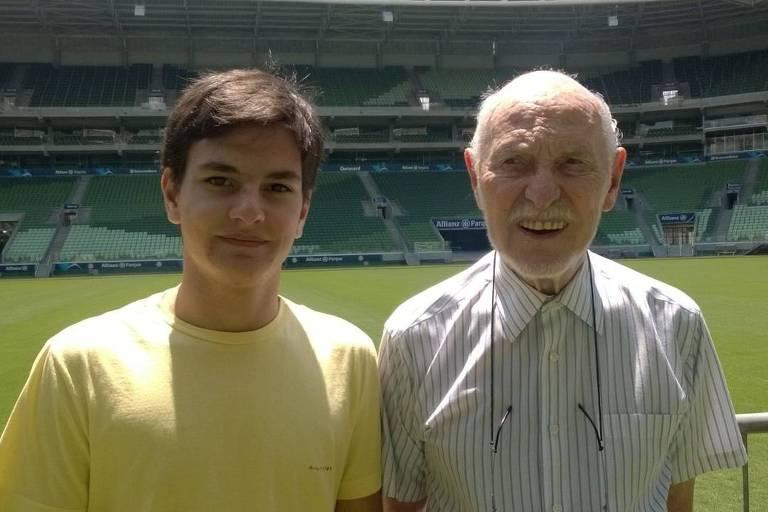 Luiz Vecchia (1925-2019) e o neto