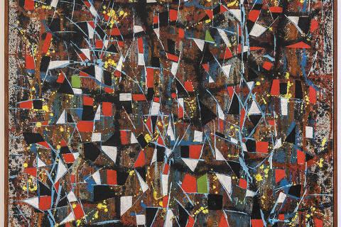 'Árvores' (1953-1954), de Antonio Bandeira