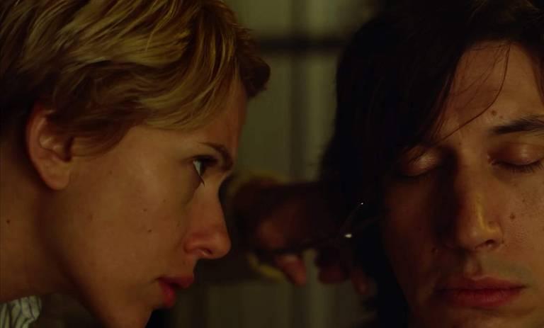 Scarlett Johansson e Adam Driver em 'História de Casamento'