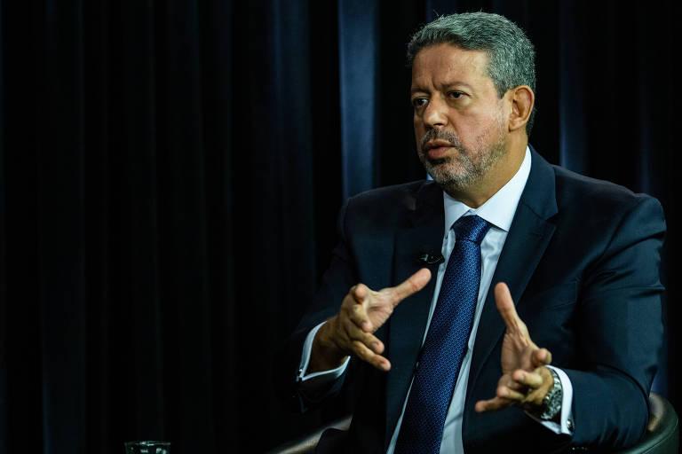 O deputado Arthur Lira (PP-AL), líder do centrão na Câmara, em entrevista à Folha e ao UOL em Brasília