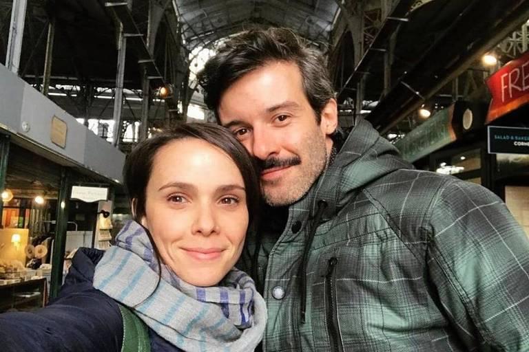 Débora Falabella e Gustavo Vaz, novo namorado