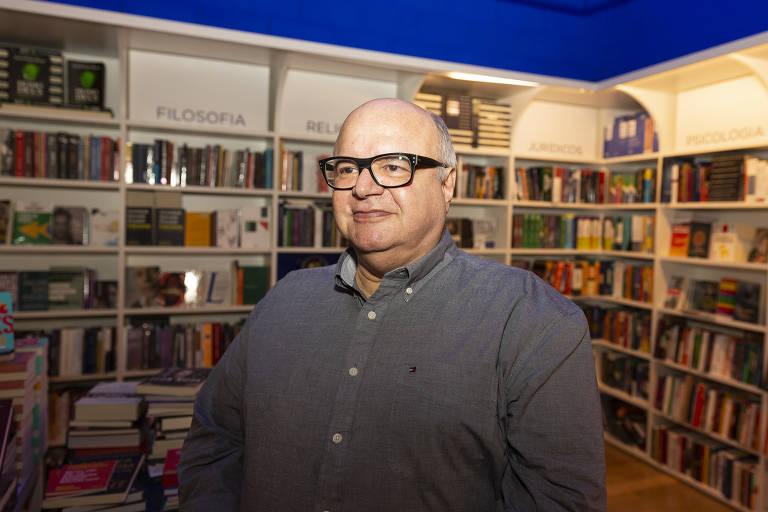 O jornalista e autor do livro 'Cásper Líbero - Jornalista que fez escola', Dácio Nitrini