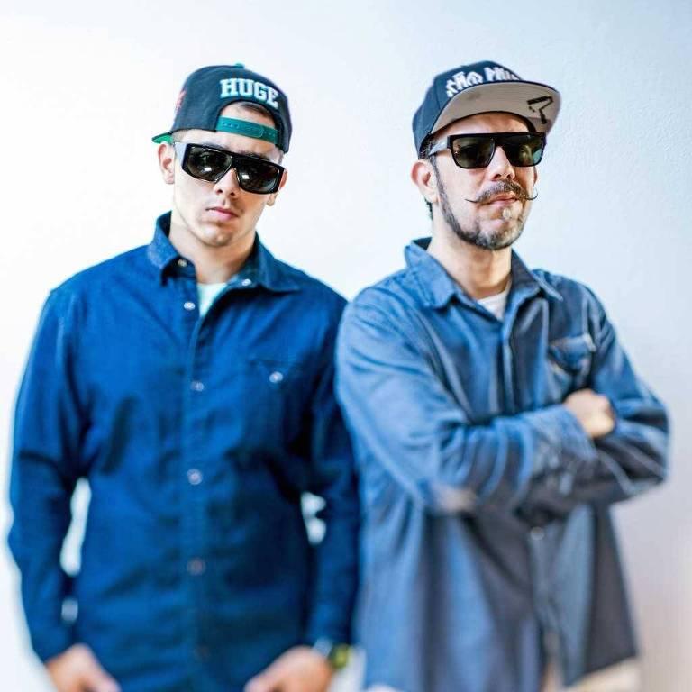 O duo Tropkillaz toca neste domingo no PanAm