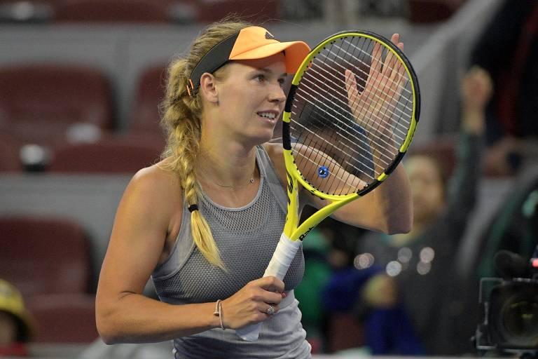 Caroline Wozniacki disputou três Olimpíadas e tem um título de Grand Slam