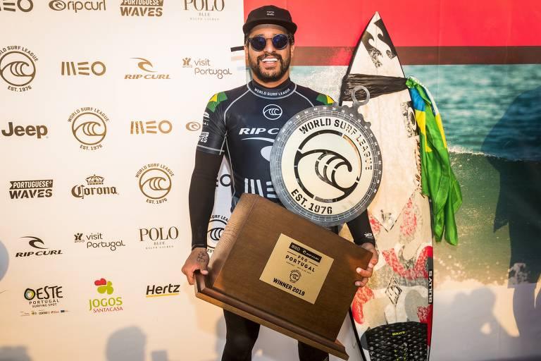 O ano de Italo Ferreira no surfe