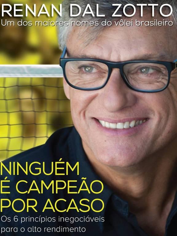 Livro de Renan Dal Zotto, técnico da seleção brasileira masculina de vôlei