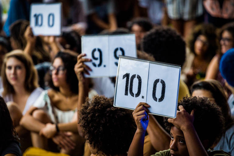 Público dá notas no Slam BR 2017
