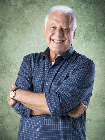 Alberto (Antonio Fagundes), um dos protagonistas da novela Bom Sucesso