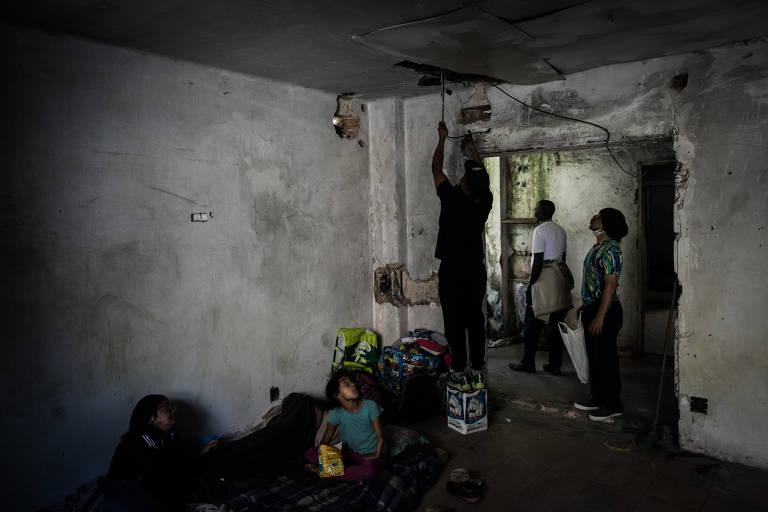 Dia em que integrantes de movimento de luta por moradia entraram no antigo prédio do INSS, em 2016, dando origem à Ocupação Nove de Julho
