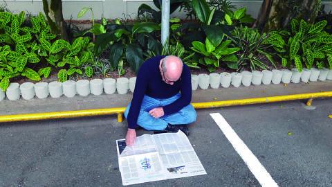 O âncora chegava às 7h na BandNews FM, dava bom dia e se acomodava no estacionamento para ler os jornaisEXCLUSIVO MÔNICA BERGAMO