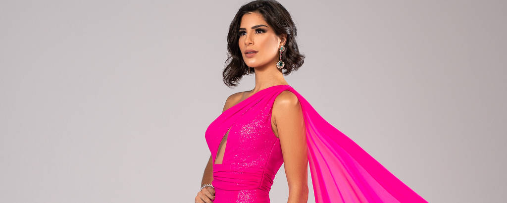 A Miss Brasil Júlia Horta usará vestido rosa e traje típico inspirado na jogadora Marta