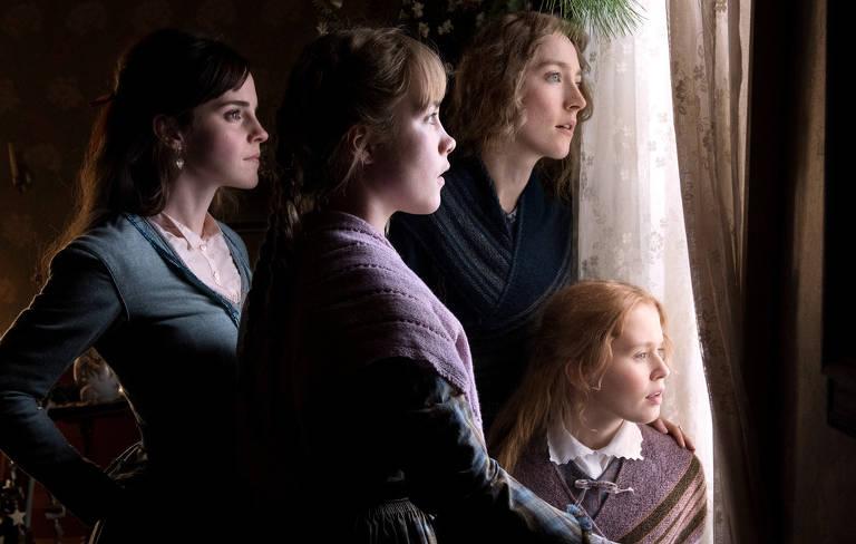 Cena do filme 'Adoráveis Mulheres'