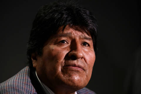 FILE PHOTO: Former Bolivian President Evo Morales looks on during an interview with Reuters, in Mexico City, Mexico November 15, 2019. REUTERS/Edgard Garrido/File Photo ORG XMIT: SIN300
